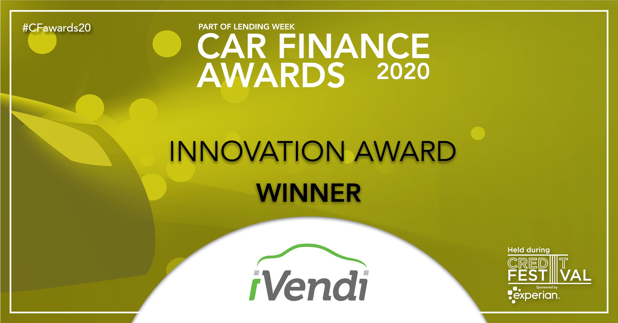 iVendi's new TRANSACT wins major innovation award