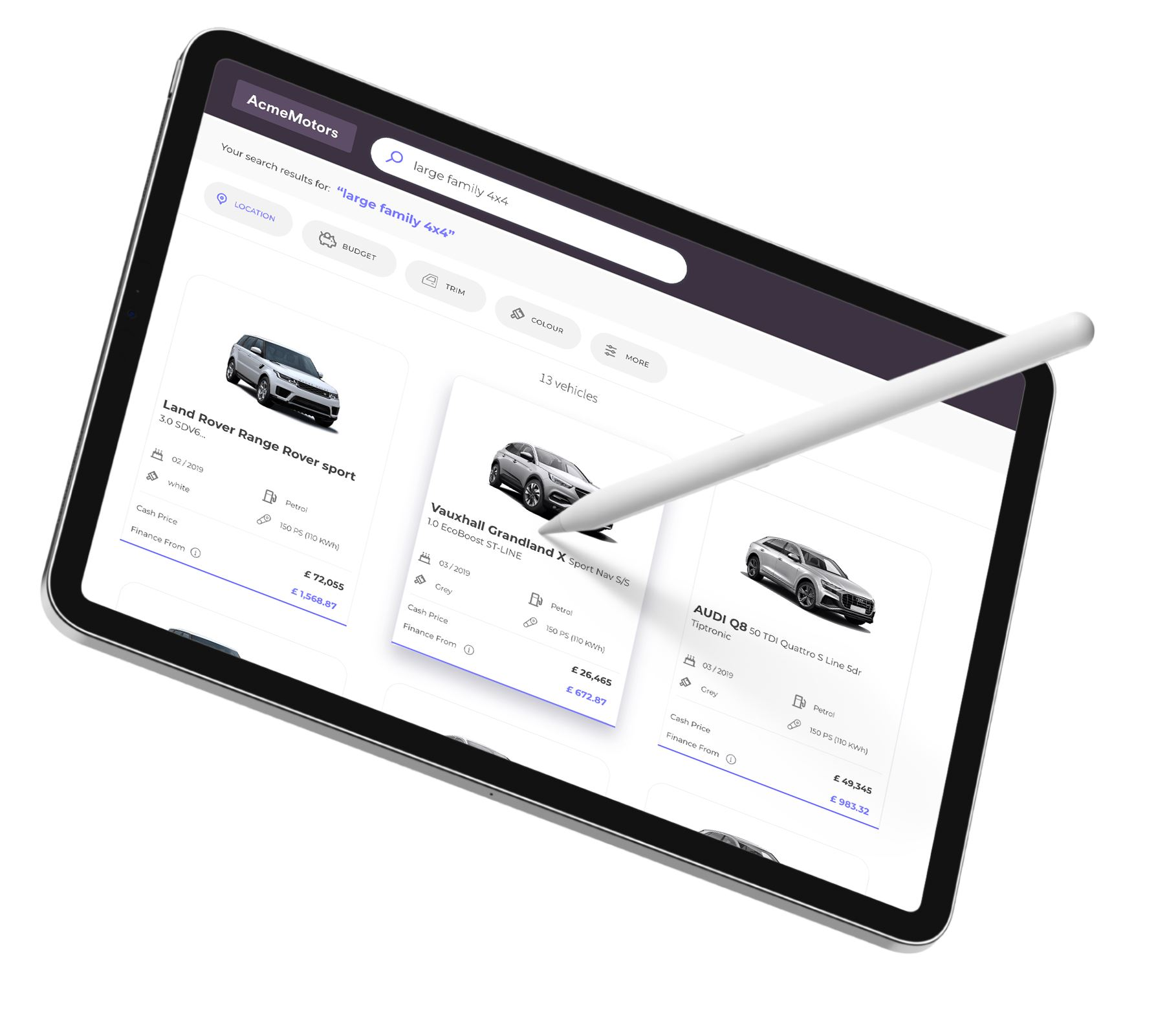 Why traditional vehicle search is too limiting